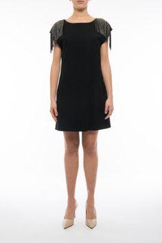SAINT LAURENT Sanded Wool Dress. #saintlaurent #cloth #dresses