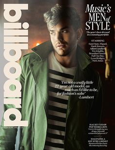 Adam Lambert on Streamlining His Style and Putting Down the Makeup | Billboard