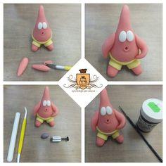 Tuto : Comment faire les personnages de Bob l'éponge en Fimo - Le blog de Miss Kawaii