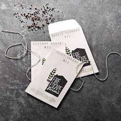 Oooooohhh! Fire Scape Farms Seed Mixes - available through Williams Sonoma new Gardening arm: Agrarian