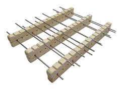 Cordierite Bead Rack - Large