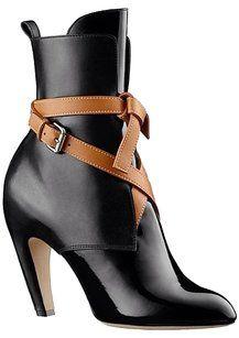 Louis Vuitton Black/Brown Boots