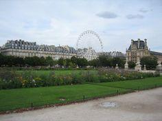 Jardin des Tuileries located within the Place de la Concorde