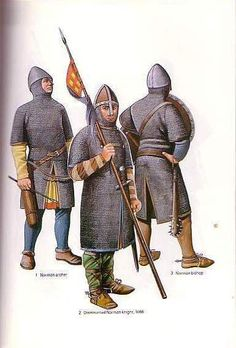 Let us take a gander at the ten incredible facts you should know about the Norman knights, the 'sword arm' of medieval Christianity. Medieval World, Medieval Knight, Medieval Armor, Viking Armor, Norman Knight, Norman Conquest, High Middle Ages, Knight In Shining Armor, Anglo Saxon