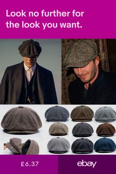 b753e5837f62f7 Men Wool Gatsby Eight Panel Newsboy Cap Comfy Driving Flat Hat ...