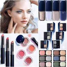 Cle de Peau Spring 2017 makeup collection - duo eyeshadows, cream blushes, and new shades of Enriching lip luminizer