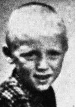 (05/10/1935) Bergen Norway (10/04/1944) Bombing at his school in Laksevag, Norway from British air raid 9 years old
