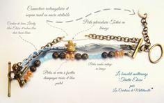 https://www.facebook.com/pages/Les-cr%C3%A9ations-de-Melletincelle-bijoux-et-glinglins-faits-main/204521212899996 #bracelet #Liberty #beads #manchette #jewelery