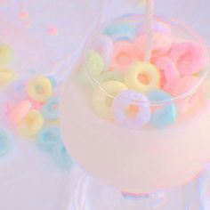 Blue Aesthetic Pastel, Rainbow Aesthetic, Aesthetic Colors, Aesthetic Images, Aesthetic Art, Aesthetic Wallpapers, Rainbow Donut, Rainbow Theme, Cute Pastel Wallpaper