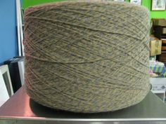 3/15 Acrylic Cone Yarn Sand, Camel, Gray Marl, WEaving Yarn, Crochet Yarn, Machine Knitting Yarn by stephaniesyarn on Etsy