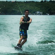 Just a relaxing time making wakeboard in Tequesquitengo México.