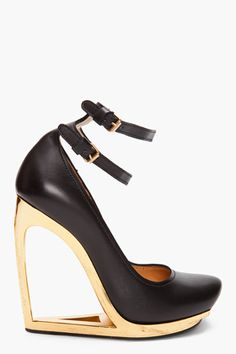 Escarpen Compense heels by Lanvin - think I might kill myself trying to walk in these but still like! :)
