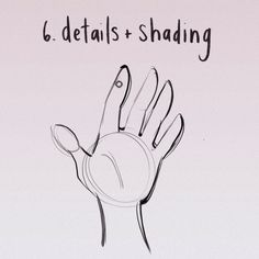 another mini-tutorial translated into a gifset! this time for a stylized hand. read: not photorealistic or 100% accurate, just simple, fast and cartoony. find the video version here -...