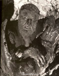 Lon Chaney Jr - The Wolfman - 1941. The film stars Lon Chaney, Jr. as The Wolf Man, featuring Claude Rains, Evelyn Ankers, Ralph Bellamy, Patric Knowles, Béla Lugosi, and Maria Ouspenskaya. The title character has had a great deal of influence on Hollywood's depictions of the legend of the werewolf