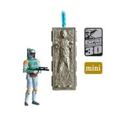 Amazon.com - Boba Fett and Han Solo Star Wars: The Empire Strikes BackTM - 2010 Hallmark Keepsake Ornament