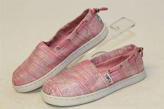 740abe8ab16 TOMS NEW Bimini Peony Slubby Lutex Youth Little Girls Kids 13 Pink Shoes   fashion  clothing  shoes  accessories  kidsclothingshoesaccs  girlsshoes  (ebay ...