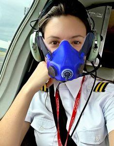 Female Pilot, Gas Masks, Half Mask, Jennifer Aniston, Clinic, Aviation, Babe, Sexy Women, Girls