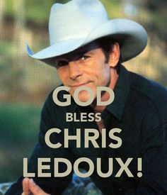 "Rode in the Rodeo and rocked the country tunes too... Garth Brooks helped him sell many albums when he yelled ""God Bless Chris Ledoux""  in ""Much Too Young To Feel This Damn Old."""