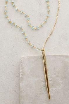 Serene Spear Necklace - anthropologie.com