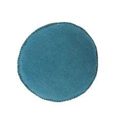 Confetti Floor Cushion - Small Teal