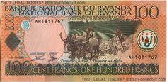 Rwanda Franc   Collect-It.com : View Banknote - Rwanda 100 Franc 2003