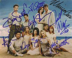 Melrose Autographs Grant Show, Melrose Place, 1990s, Celebs, Baseball Cards, Celebrities, Celebrity