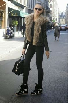 How to Chic: IZABEL GOULART - STREET STYLE