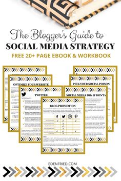 Learn how to optimize your social media accounts for success as a blogger. This is your ultimate social media for bloggers strategy guide.