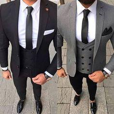 Best Suits For Men, Cool Suits, Indian Men Fashion, Mens Fashion Suits, Blazer Outfits Men, Casual Outfits, Black Suit Men, Black Pants, Der Gentleman