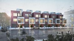 Townhouse, Multi Story Building, Architecture, Projects, Arquitetura, Log Projects, Terraced House, Architecture Design