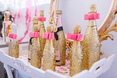 Pink and Glitter bridal shower | Ducky Jessica Photography