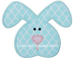 729 Bunny 6 Machine Embroidery Applique Design
