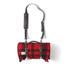 www.Filson.com | Mackinaw Lap Robe with Carrying Strap