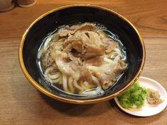 肉うどん©摂理ブログ