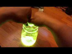 How to: glow in the dark mason jar!