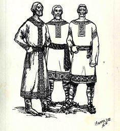 MALE Shirt - Slavic style