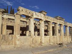 Prossima destinazione: Archaeological Site, Hierapolis, Pamukkale, Unesco World Heritage Site ...Denizli