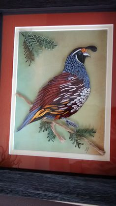 Quail...Tranquillity Quilling Designs by Djay