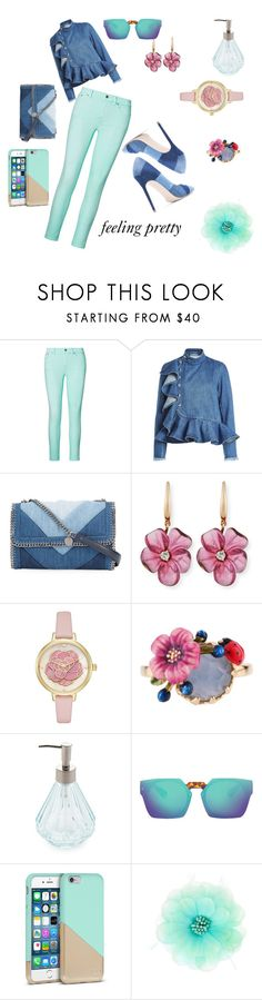 """""""Untitled #131"""" by cassandra-beauchamp on Polyvore featuring Ralph Lauren, Marques'Almeida, STELLA McCARTNEY, Rina Limor, Kate Spade and Les Néréides"""