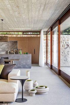 Grand design Australia's Textural house belongs to Daniela Turrin and Niran Peiris of Hunters Hill (Series 4 Episode 8) Graypants Scrapligh...