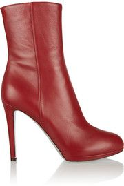 Sergio Rossi Lola leather boots