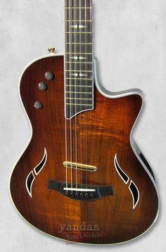 Taylor T5z Custom-Koa Hollowbody Electric-Acoustic Hybrid Guitar