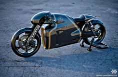Daniel Simon does it again but this time it's real – Lotus C-01 Motorcycle Design #danielsimon