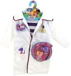 Disney Doc McStuffins Doctors Coat & Bonus Accessories #Unknown
