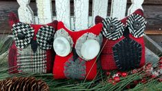 Primitive Pillows, Bowl Fillers, Christmas Stockings, Create, Holiday Decor, Home Decor, Needlepoint Christmas Stockings, Decoration Home, Room Decor