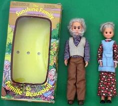 Sunshine Family Grandparents!! I LOVED them! My mom still has them at my old house <3 I had the whole family, but the grandma was always my favorite!