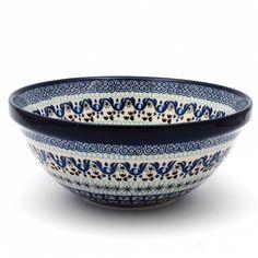 Blue Dot Pottery - Polish Pottery & Stoneware - Serving / Mixing Bowl -