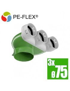 PE-flex telo anemostatu 90° 3x75 Tech, Car, Automobile, Technology, Autos, Cars