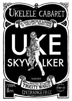 ukulele cabaret tricity vogue uke skywalker