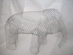 urne éléphant armature grillage mariage bricolage explication tutoriel